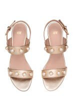 Sandals - Gold - Ladies | H&M 2